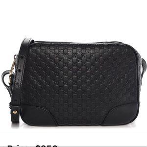 Gucci Microguccissima Mini Bree Messenger Bag